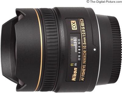 Nikon 10.5mm f/2.8G AF DX Fisheye Lens