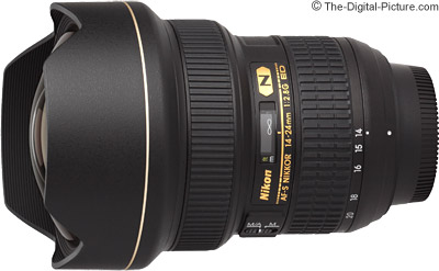 Nikon 14-24mm f/2.8G ED AF-S Nikkor Lens - $1,659.00 (Compare at $1,996.95)