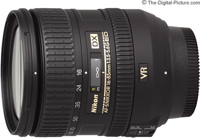 Nikon 16-85mm f/3.5-5.6G AF-S VR DX Nikkor Lens Review