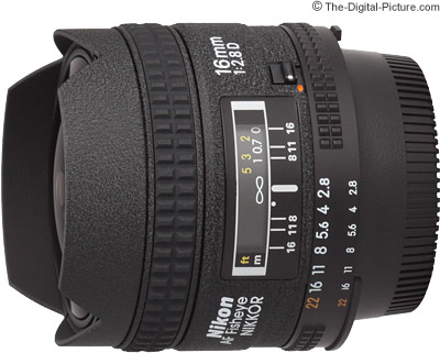 Nikon 16mm f/2.8D AF Fisheye Nikkor Lens Review
