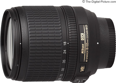 Nikon 18-105mm f/3.5-5.6G AF-S ED VR DX Nikkor Lens Review