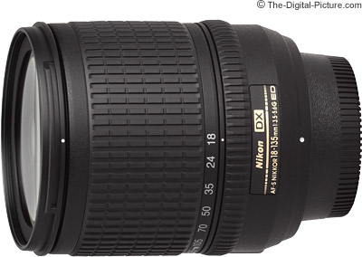 Nikon 18-135mm f/3.5-5.6G IF-ED AF-S DX Nikkor Lens Review