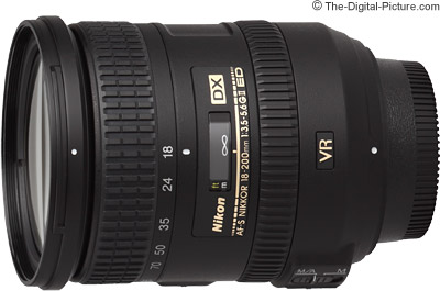 Nikon 18-200mm f/3.5-5.6G IF-ED AF-S DX VR II Nikkor Lens Review