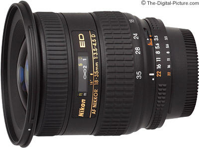 Nikon 18-35mm f/3.5-4.5D IF-ED AF Nikkor Lens Review