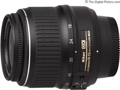 Nikon 18-55mm f/3.5-5.6G II AF-S DX Lens