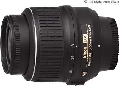 Nikon 18-55mm f/3.5-5.6G AF-S VR DX Nikkor Lens Review