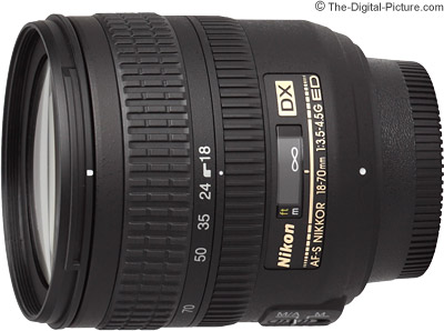 Nikon 18-70mm f/3.5-4.5G IF-ED AF-S DX Nikkor Lens Review