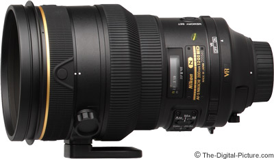 Nikon 200mm f/2G IF-ED AF-S VR II Nikkor Lens Review