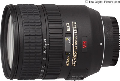 Nikon 24-120mm f/3.5-5.6G IF-ED AF-S VR Nikkor Lens Review