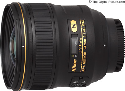Nikon 24mm f/1.4G AF-S ED Nikkor Lens Review