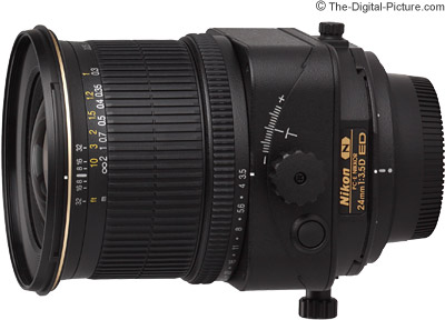 Nikon 24mm f/3.5D PC-E Nikkor Lens Review