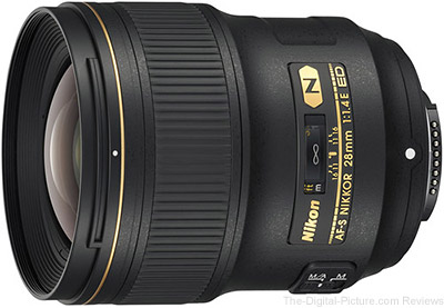 Nikon 28mm f/1.4E ED NIKKOR Lens In Stock at B&H