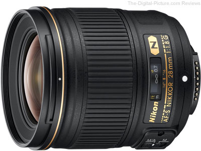 Nikon 28mm f/1.8G AF-S Nikkor Lens Review