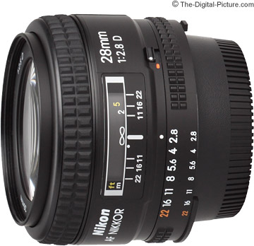 Nikon 28mm f/2.8D AF Nikkor Lens Review