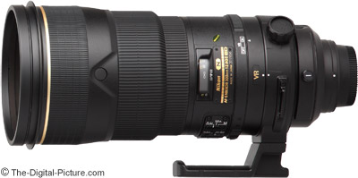 Nikon 300mm f/2.8G IF-ED AF-S VR II Nikkor Lens Review