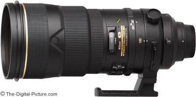 Nikon 300mm f/2.8G AF-S VR II Lens