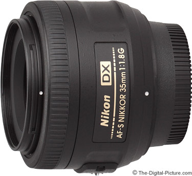 Nikon 35mm f/1.8G AF-S DX Lens - $154.99 Shipped (Compare at $196.95)