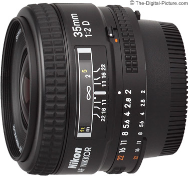 Nikon 35mm f/2D AF Nikkor Lens Review