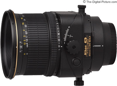 Nikon 45mm f/2.8D ED PC-E Micro Nikkor Lens Review