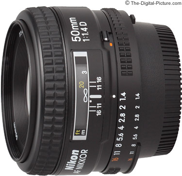 Nikon 50mm f/1.4D AF Nikkor Lens Review