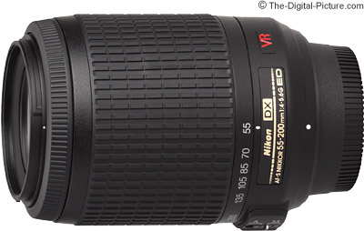 Nikon 55-200mm f/4-5.6G IF-ED AF-S DX VR Nikkor Lens Review
