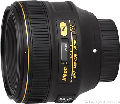 Nikon 58mm f/1.4G AF-S Nikkor Lens Review