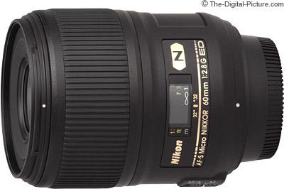 Nikon 60mm f/2.8G AF-S Micro Lens