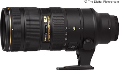 Nikon 70-200mm f/2.8G VR II Nikkor Lens Tested on D810
