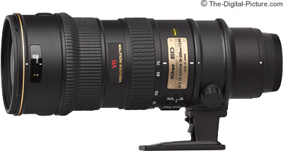 Nikon 70-200mm f/2.8G IF-ED AF-S VR Nikkor Lens Review