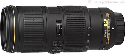 Nikon AF-S 70-200mm f/4G  NIKKOR ED VR Lens - $1,139.00 (Compare at $1,396.95)