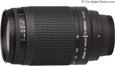 Nikon 70-300mm f/4-5.6G AF Nikkor Lens Review