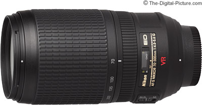Nikon 70-300mm f/4.5-5.6G AF-S VR Nikkor Lens Review
