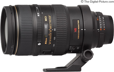 Nikon 80-400mm f/4.5-5.6D ED AF VR Nikkor Lens Review