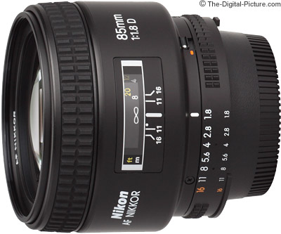 Nikon 85mm f/1.8D AF Nikkor Lens Review