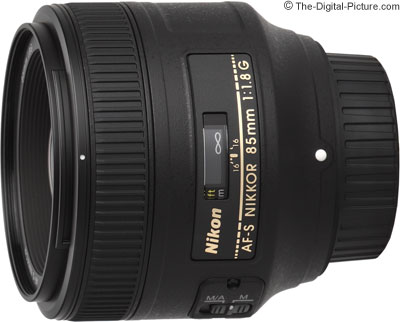 Nikon 85mm f/1.8G AF-S Nikkor Lens - $439.95 (Compare at $476.95)
