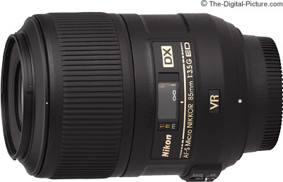 Nikon 85mm f/3.5G AF-S DX VR Micro Nikkor Lens Review