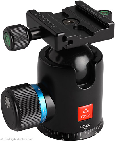 Oben BC-139 Ball Head Review