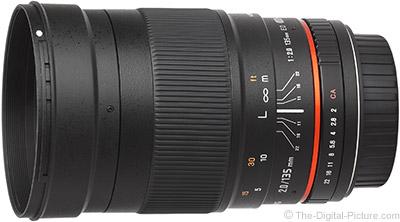 Samyang 135mm f/2 ED UMC Lens