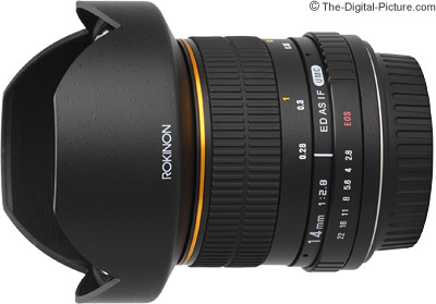 Samyang 14mm f/2.8 IF ED UMC Lens (Orig, Rokinon/Bower)