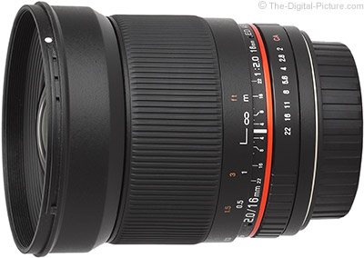 First Looks at Samyang 16mm f/2 Lens Image quality