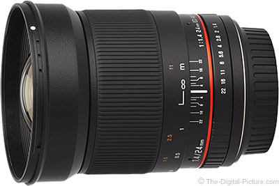 Samyang 24mm f/1.4 US UMC Lens (Rokinon/Bower)
