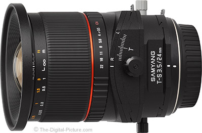 Samyang 24mm f/3.5 ED AS UMC Tilt-Shift Lens (Rokinon/Bower) Review