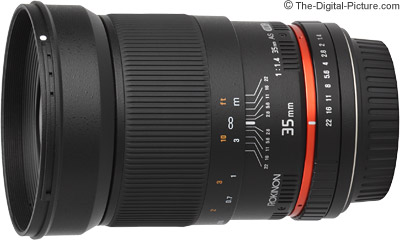 Samyang 35mm f/1.4 US UMC Lens (Rokinon/Bower) Review