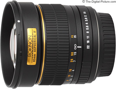 Samyang 85mm f/1.4 Lens (Rokinon/Bower) Review