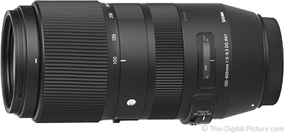 Sigma 100-400mm f/5-6.3 DG OS HSM Contemporary Lens In Stock