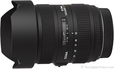 Sigma 12-24mm f/4.5-5.6 DG II HSM Lens Image Quality Test Results