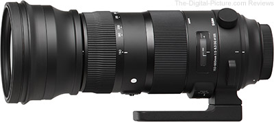 Sigma 150-600mm f/5-6.3 DG OS HSM Sports Lens for Canon In Stock at B&H