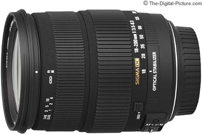 Sigma 18-200mm f/3.5-6.3 DC OS Lens Review