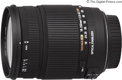 Sigma 18-250mm f/3.5-6.3 DC OS HSM IF Lens Press Release