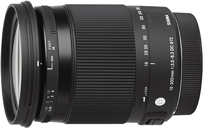 Sigma 18-300mm DC Macro OS HSM Contemporary Lens